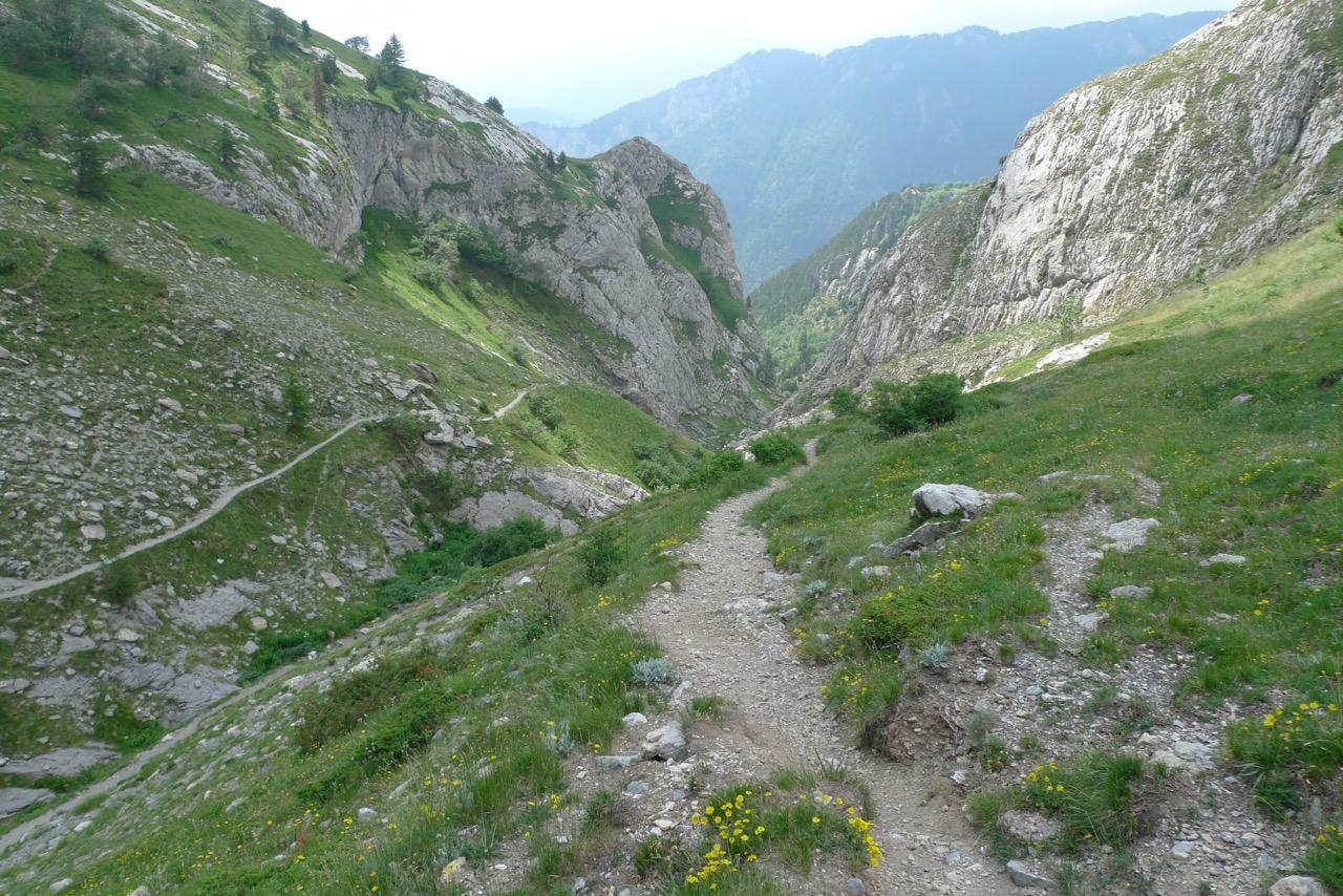 Abstieg nach Carmine Inferiore durchs Vallone delle Saline