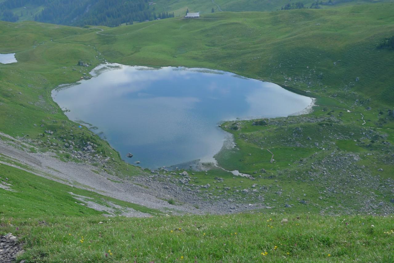 Seefeldsee oberhalb der Älggialp