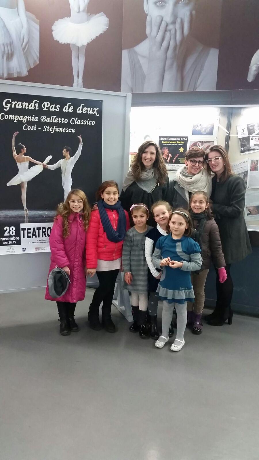 Il Centro Danza Ciriè al Teatro Nuovo Torino - I grandi Pas de Deux