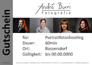 Gutschein Portraitfotoshooting