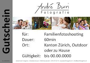 Gutschein Familienfotografie