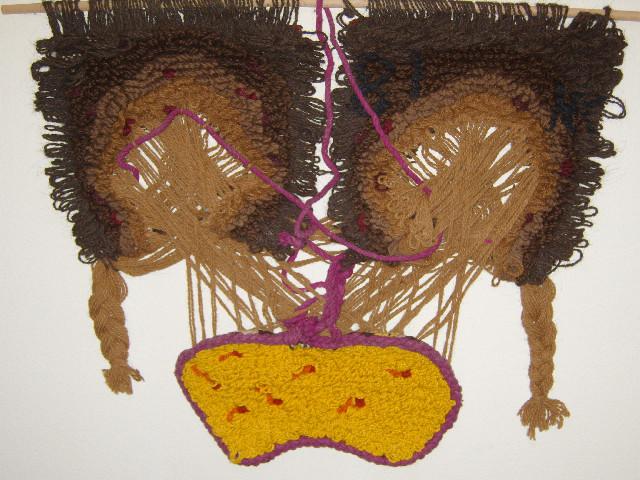 Geldbkörper, 0.90 - 0.72, Wolle, 1981