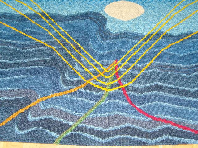 Meer, 2.10 - 1.65, Wolle, 1986/87