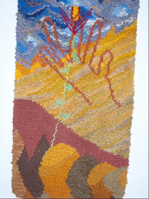 Finger Gottes, 0.68 -1.26, Wolle Seide, 1986