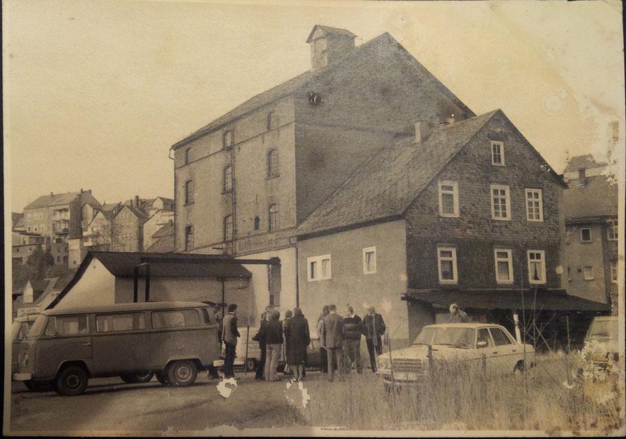 Erstes Treffen an der Kirchhofsmühle Mitte der 80er Jahre.