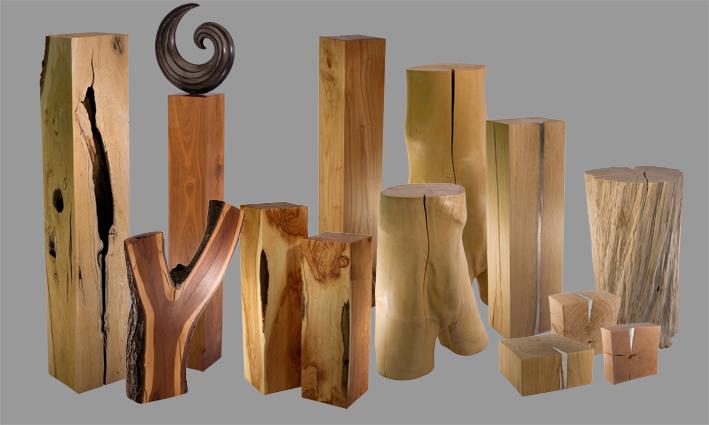 Holzpur Stelen Holzpur Stelen De Holzstelen Als Wohnidee