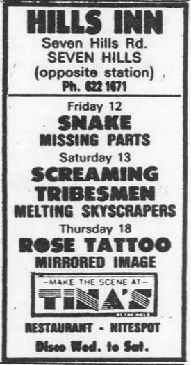 SMH Friday 12.07.1985 Page  43, AD 18.07.85