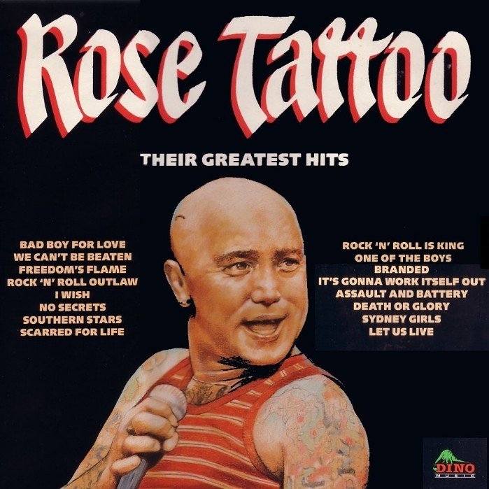 Discographie Rose Tattoo Fanpage