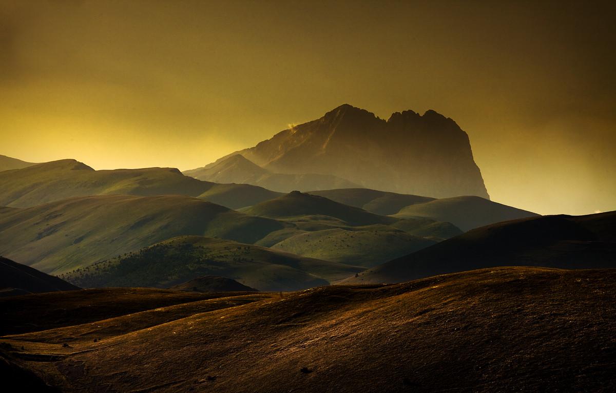 Corno Grande, Parco Nazionale del Gran Sasso e Monti della Laga