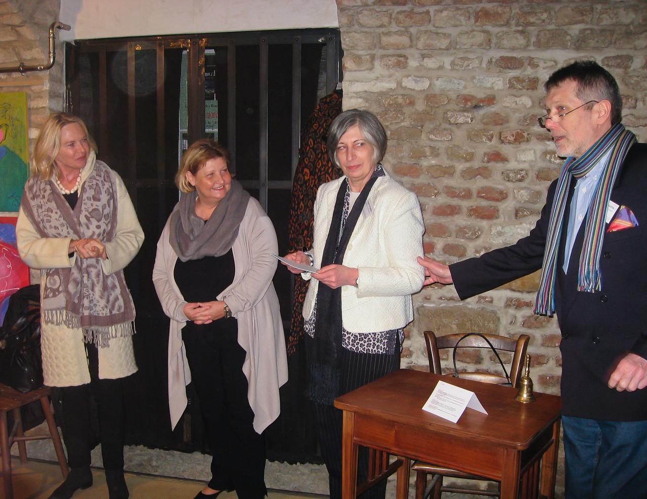 Margret Freund, Martina Maylar, Ursula Pfeiffer, Franz Pfeiffer