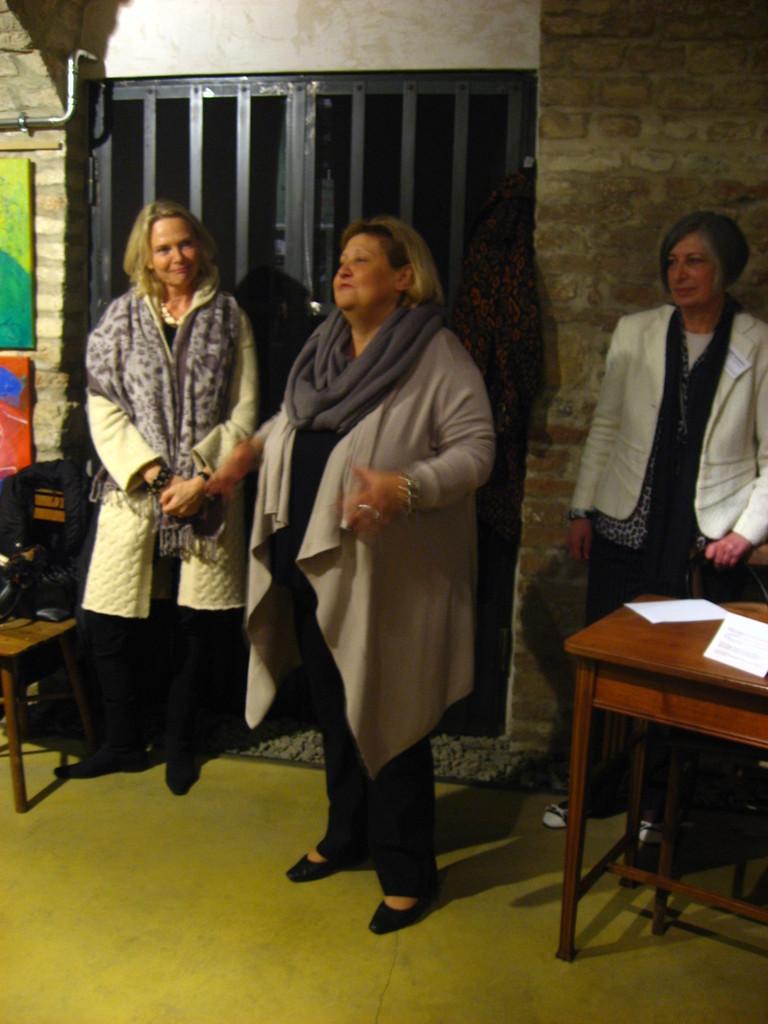 Margret Freund, Martina Maylar, Ursula Pfeiffer