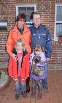 Bonny mit Familie