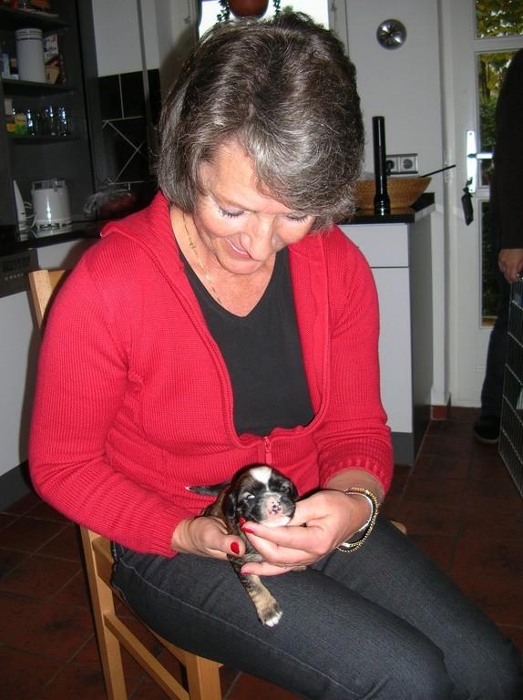 1.11.08 Meine neue Mami - die gefällt mir!!!