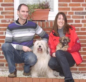 22.01.2011 Familie Storf mit Cooper und Chimpu