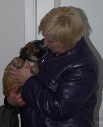14.01.2011 Christine und Lilly, Liebe auf den ersten Blick!