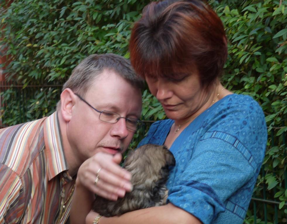 Bonny und Mama und Papa Bartsch