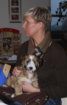 14.01.2011 Frauchen und ich, ein tolles Team!