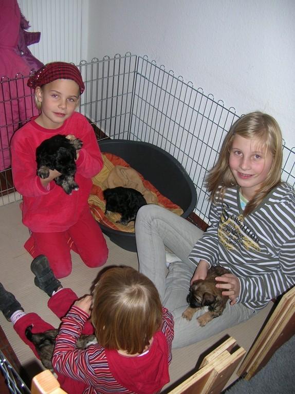 21.11.08 Familie Löcker zu Besuch...