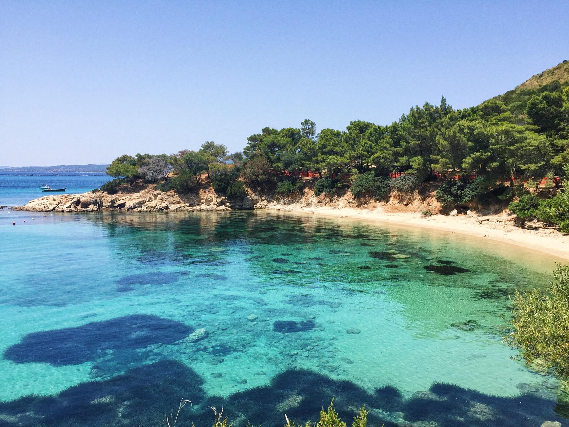 Spiaggia Cala Moresca.