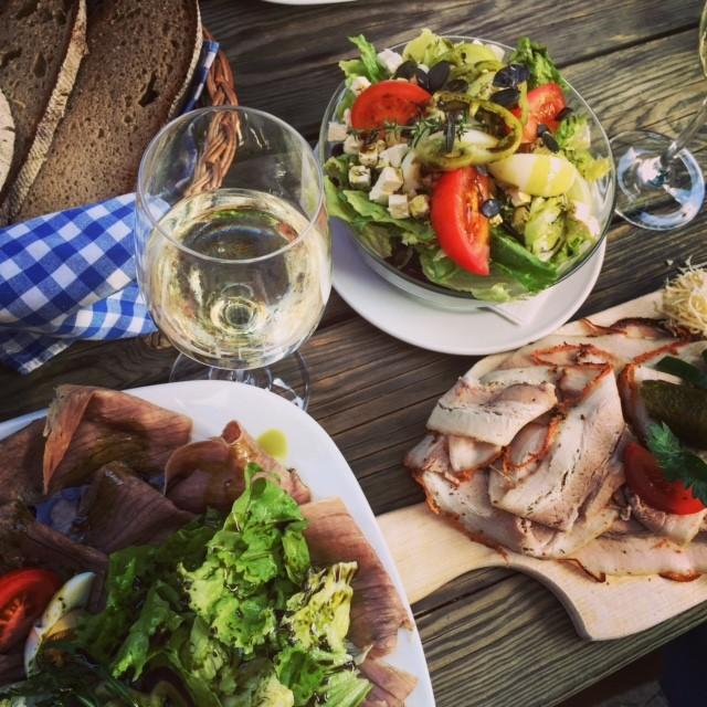 Das kulinarische Angebot beim Höllerhansl