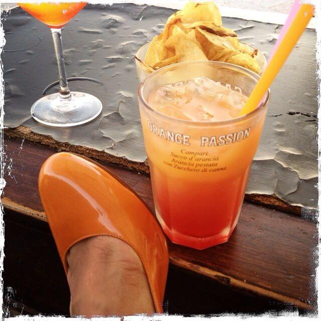 Orange Passion. Campari from the finest.