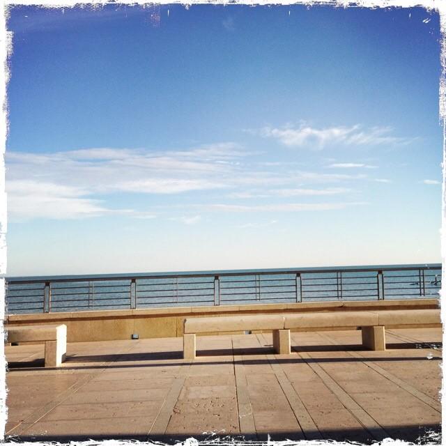 Der Lungomare - eine gepflegte Promenade entlang der Küste.