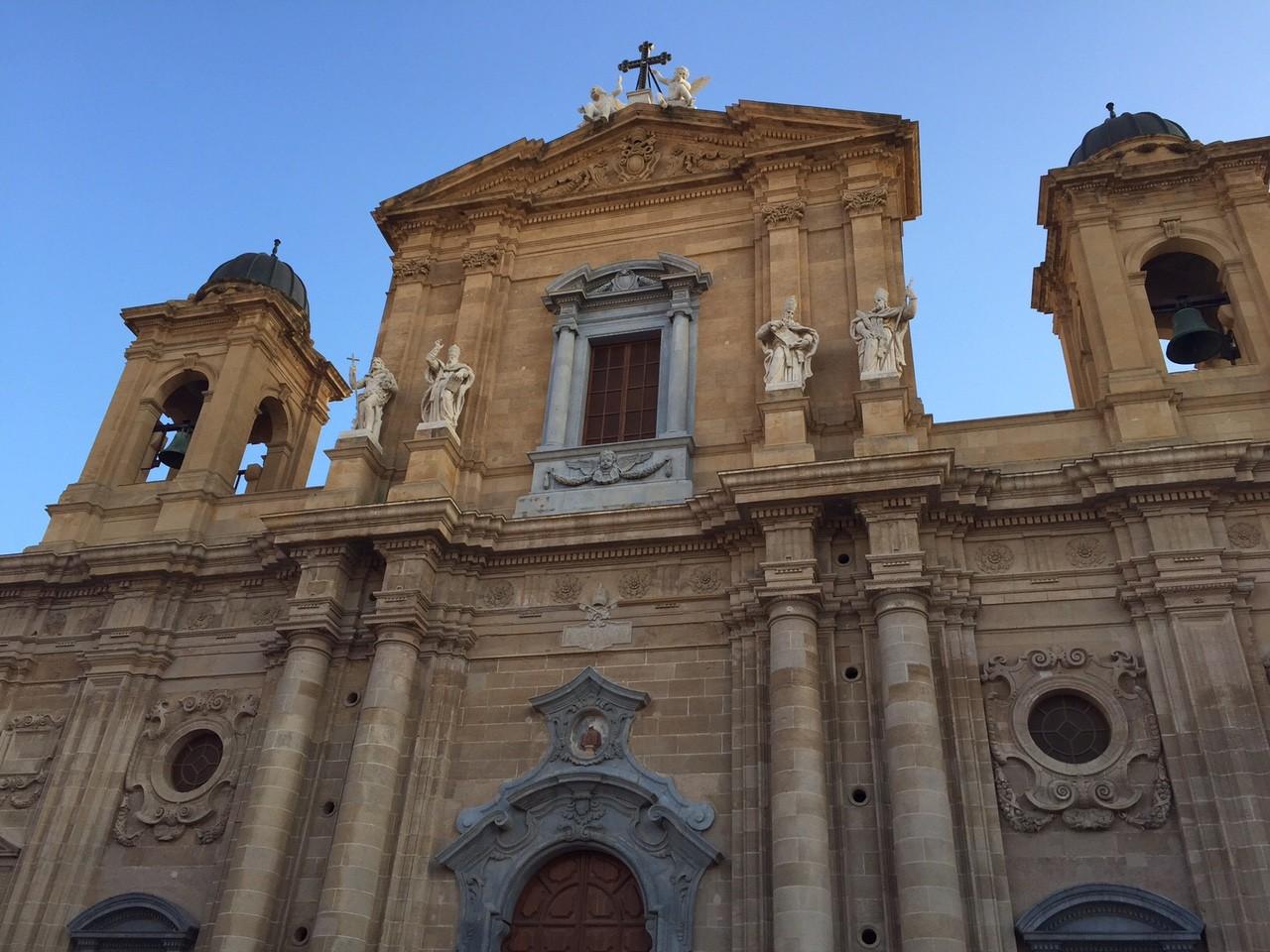Die Kathedrale von Marsala