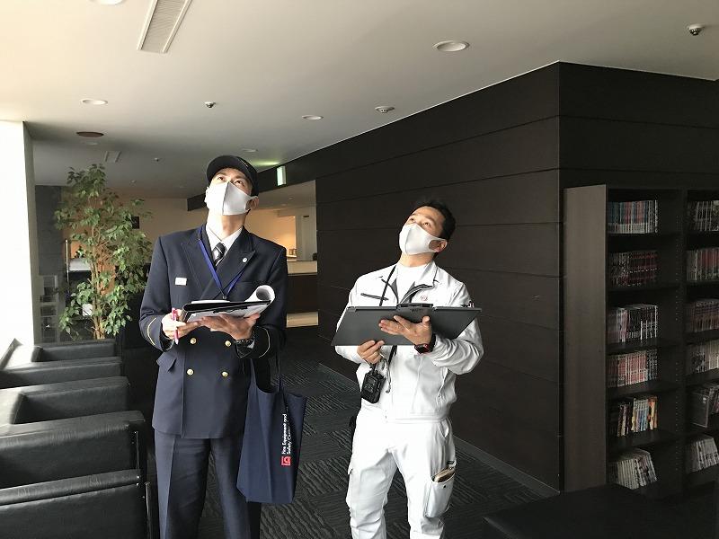 非常用放送設備 消防検査(新潟市中央区|ホテル)