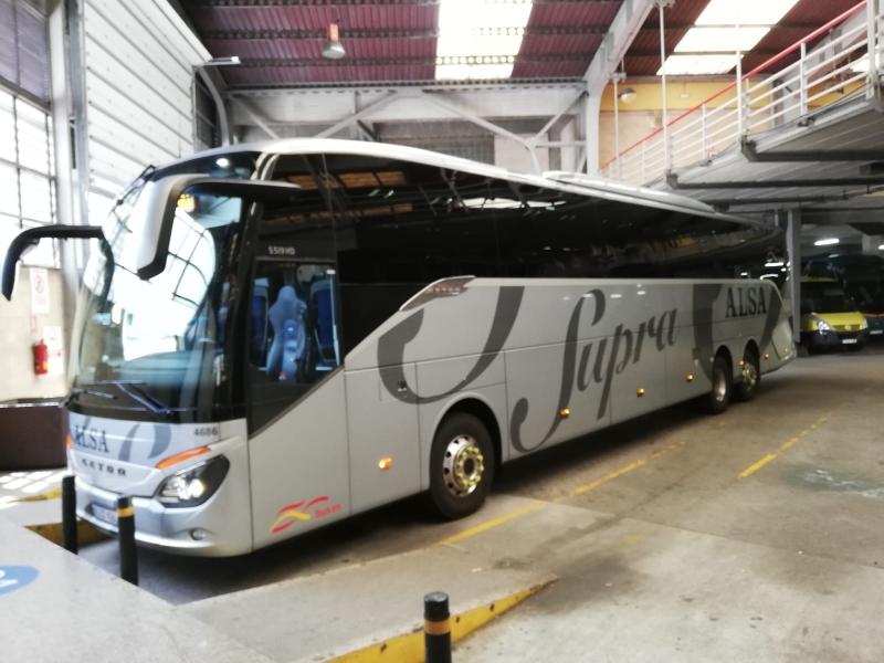 17:05 / Mit dem Bus nach Oviedo