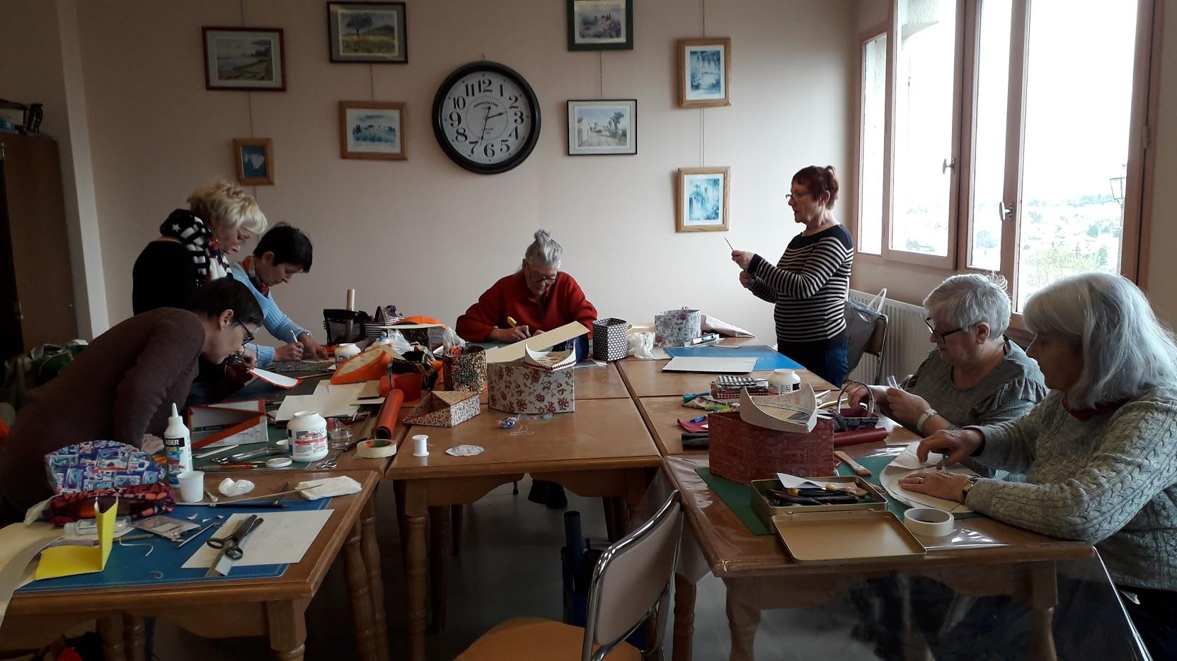 Atelier cartonnage