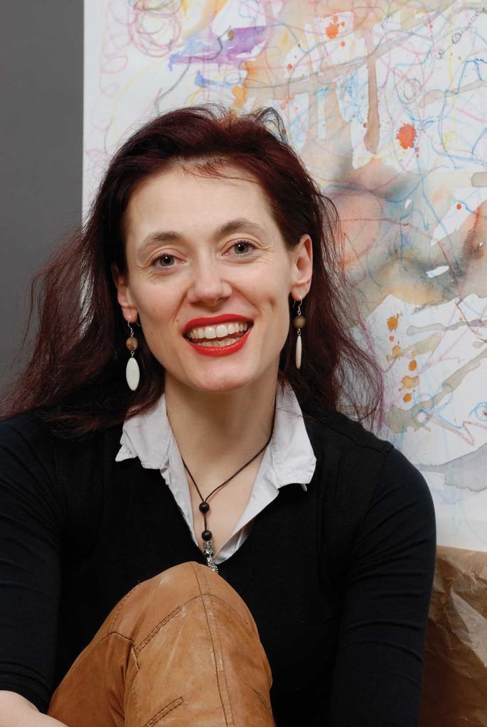 Marlene Schnabel-Marquardt MARLOW MARKAR Künstlerin Weimar Chanson Sängerin