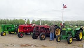 Arenac County Fair antique tractors