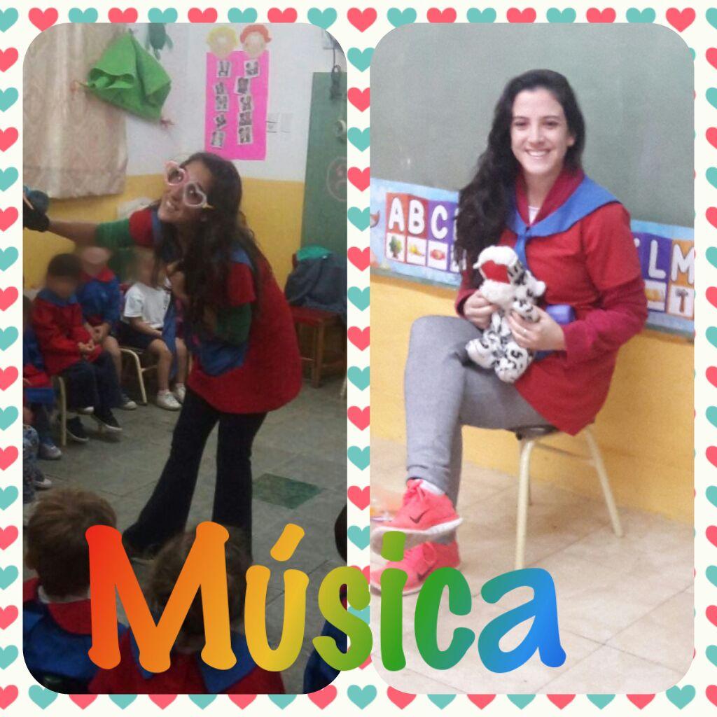 Las profes de música