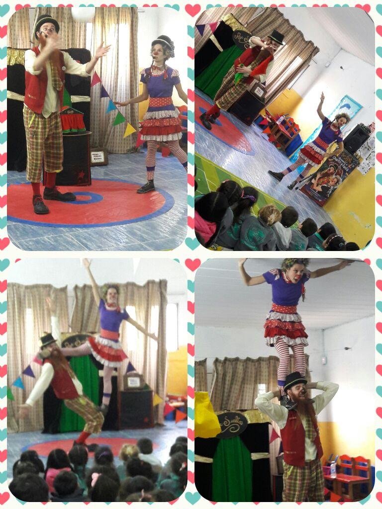 Día de los jardines: Show de magia y circo