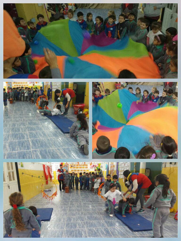Jornada recreativa de Educación física Prof. Vanesa