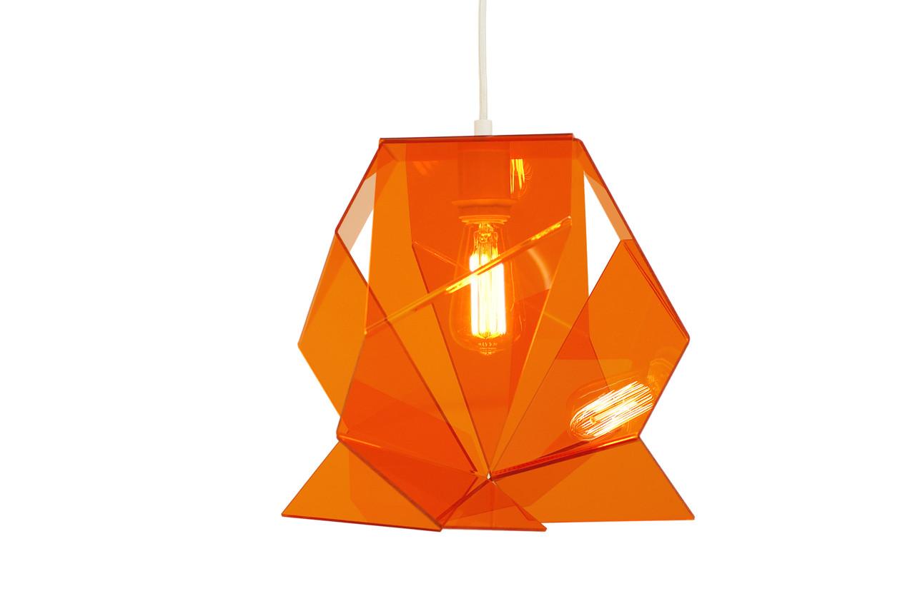 Crease orange steinbuehl leuchten lampen editionen for Lampen und leuchten gutschein