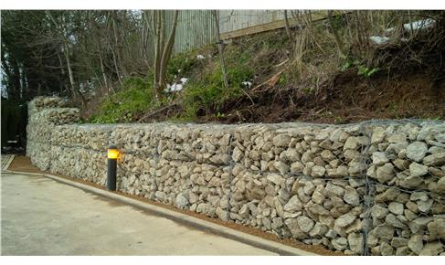Heavy duty Gabion wall