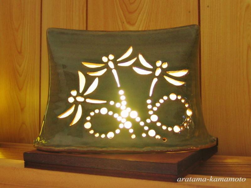 ランプシェード。 灯りで生活に潤いをもたらします。