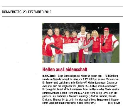 Wochenblatt Mainz 20.12.12