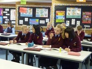 オーストラリアの姉妹校での留学の様子