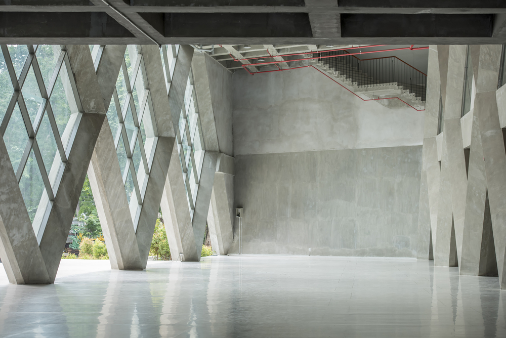 Kunstharzbodenbeschichtung Aussenbereich / Eingang / Empfang