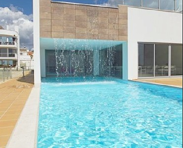 Swimming Pool with Poolhouse