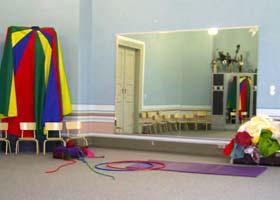 Unser Raum für Darstellendes Spiel sowie Tanz und Bewegung