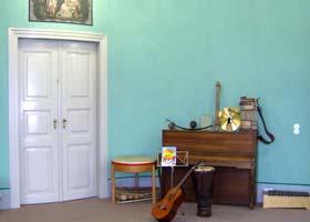 Musikraum- Hier ist Raum für kleine Virtuosen