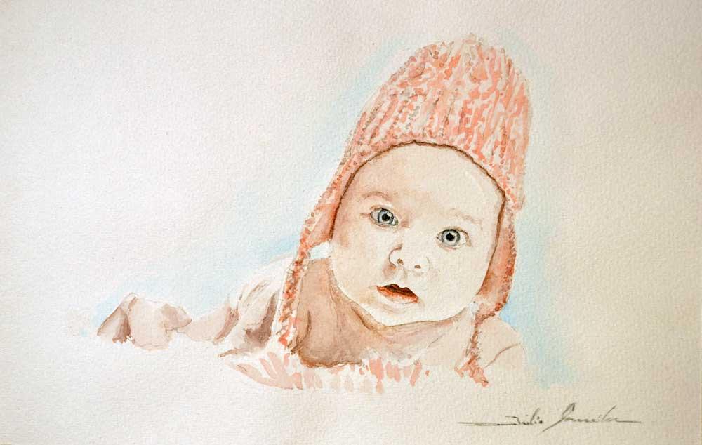 Baby (Aquarell)
