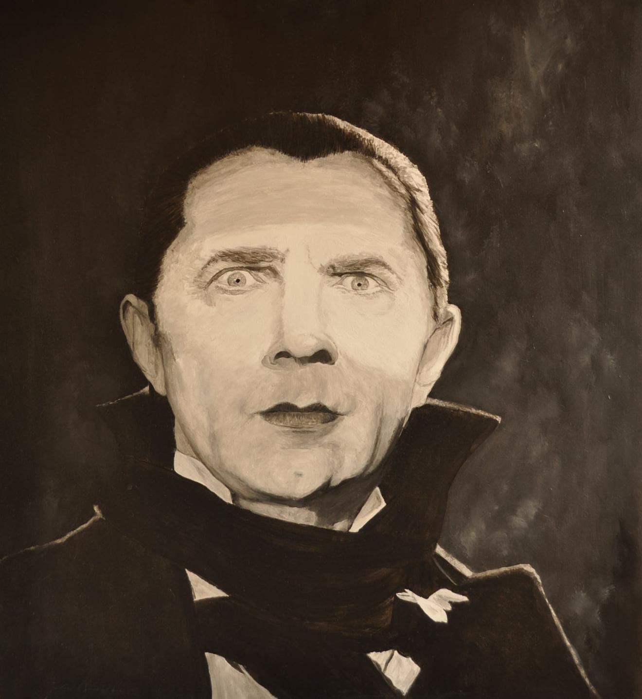 Bela Lugosi (Acryl)