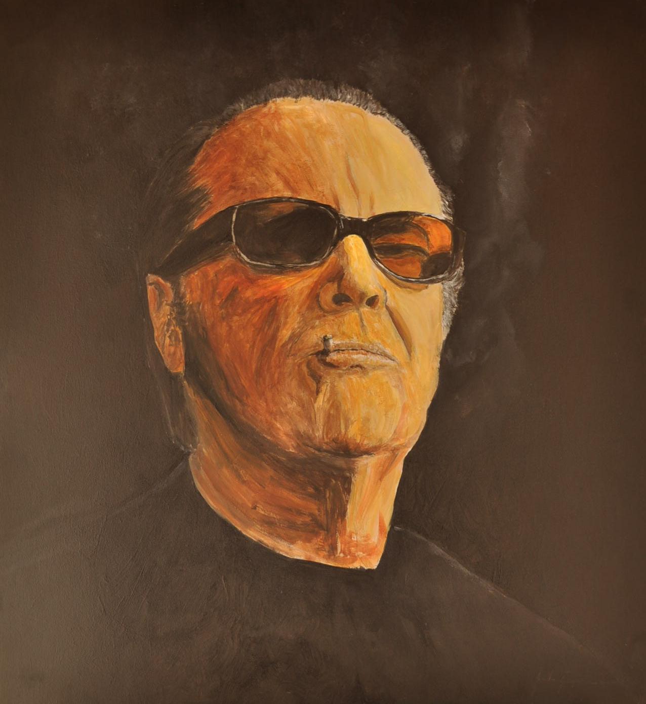 Jack Nicholson (Acrílico)