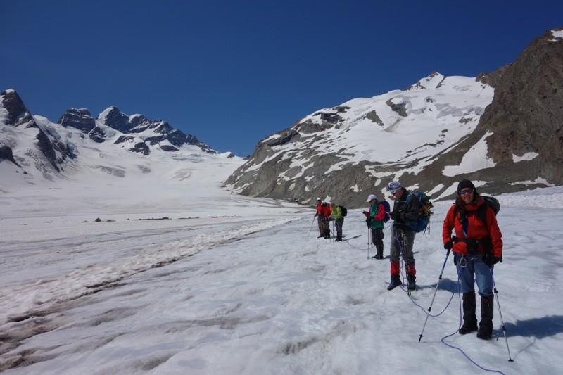 Aletschgletscherwanderung.