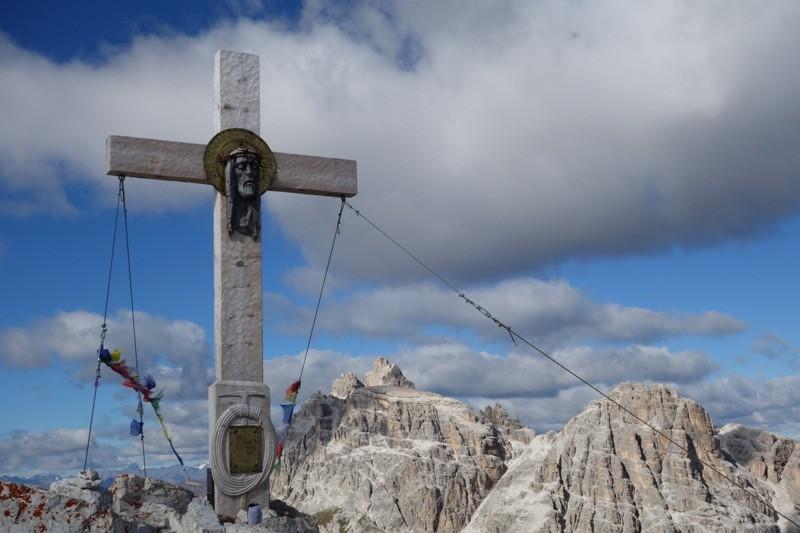 Gipfelkreuz des Paternkofel.
