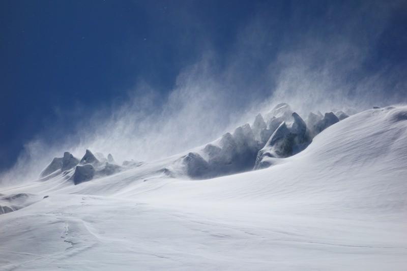 Skitour am Sustenpass.